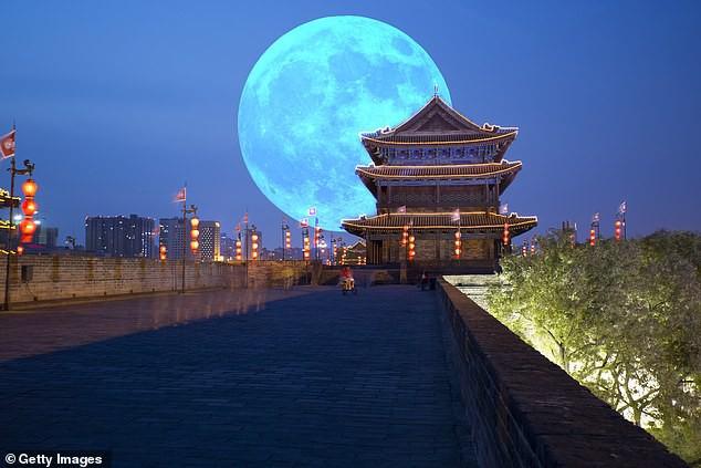 Thành Đô dự định phóng vệ tinh được thiết kế để hoạt động như một Mặt trăng nhân tạo. Ảnh: Futurism.