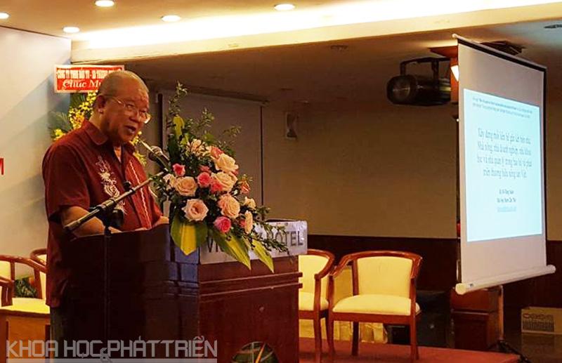 GS.Võ Tòng Xuân  - Đại học Nam Cần Thơ