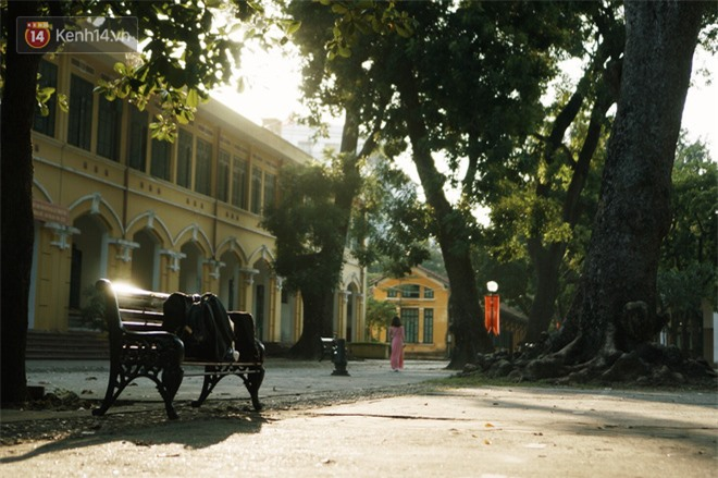 Ngôi trường lâu đời nhất Hà Nội - 110 năm qua vẫn vẹn nguyên vẻ đẹp yên bình, rêu phong và thách thức thời gian - Ảnh 4.