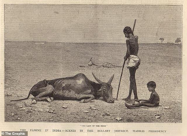 Hình ảnh về nạn đói ở Ấn Độ của Anh trong những năm 1876-78.