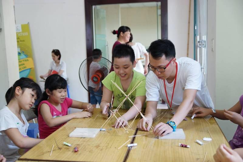 Ngày hội STEM 2017 tại Hà Nội. Ảnh: laodong.vn