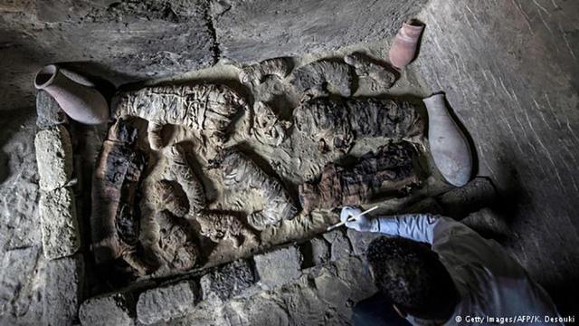 Nhiều xác ướp mèo mới được tìm thấy tại một ngôi mộ cổ nghìn năm ở Ai Cập.
