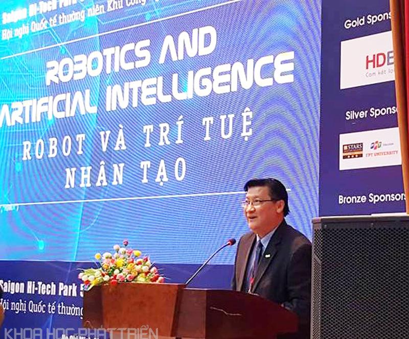 Ông Lê Hoài Quốc - Trưởng ban SHTP