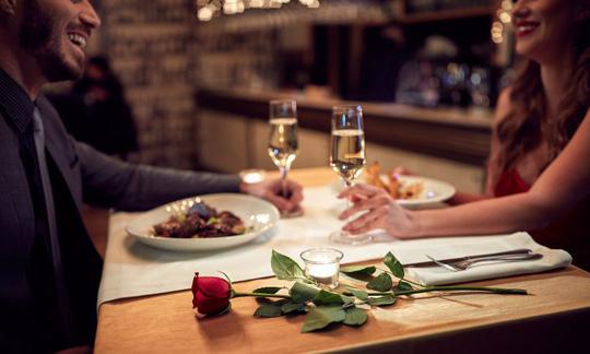 Bữa ăn cùng người khác phái hấp dẫn rất tốt cho sức khỏe - ảnh minh họa từ internet
