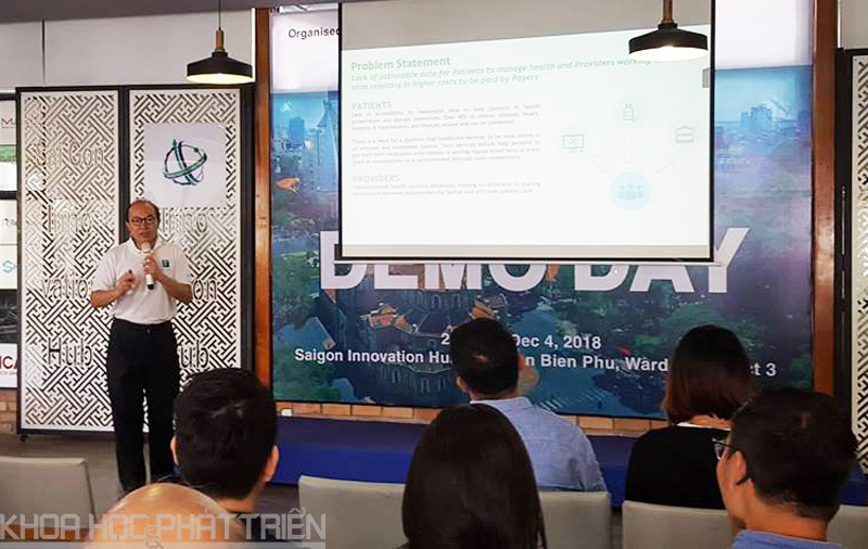 Startup giới thiệu dự án của mình