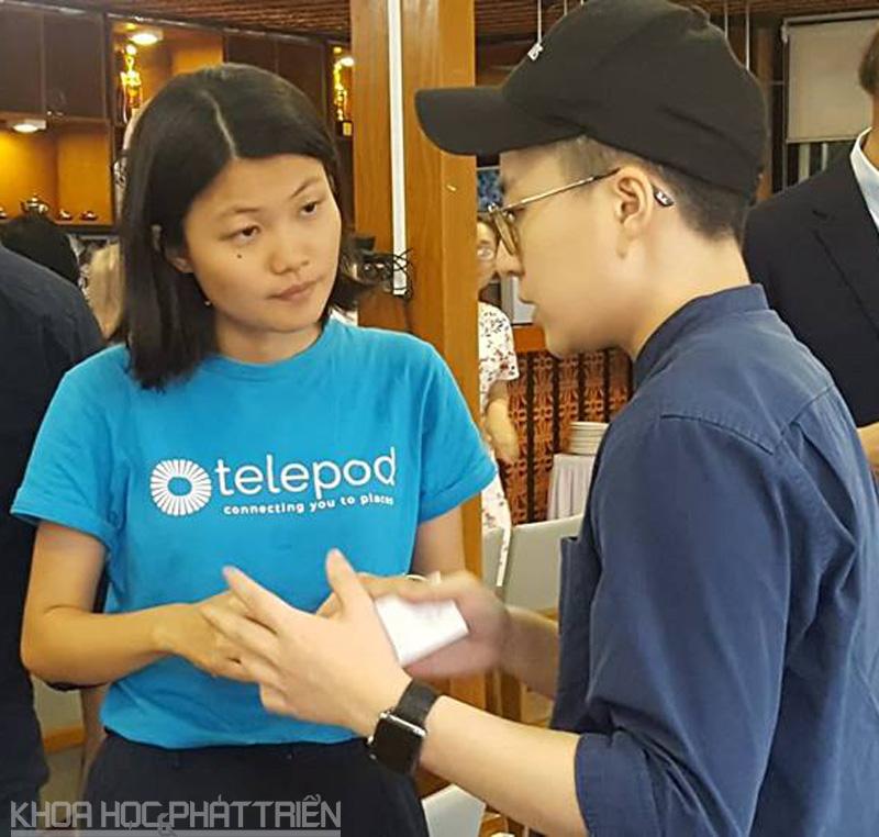 Startup trao đổi với các nhà đầu tư để tìm kiếm cơ hội mở rộng thị trường