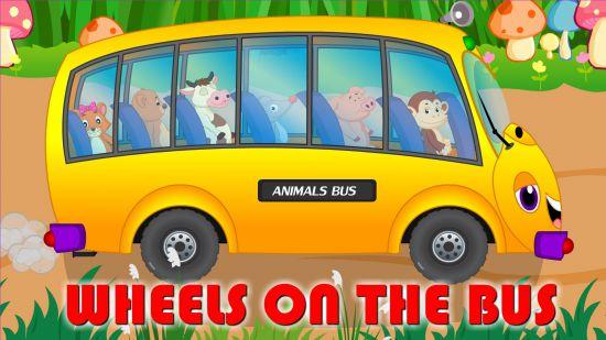 """""""Wheels On The Bus"""" là bài hát quen thuộc được lặp đi lặp lại giúp trẻ ghi nhớ"""
