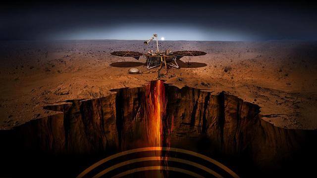 Dưới bề mặt sao Hỏa được cho là một khu vực có nhiều vi khuẩn đang tồn tại.