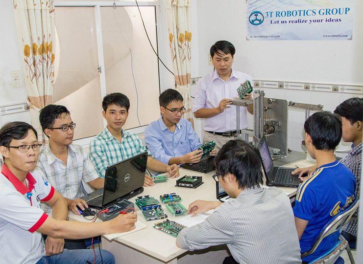 Công ty Robot 3 T là một trong số ít những công ty được NATIF giải ngân. Nguồn: Công ty Robot 3T