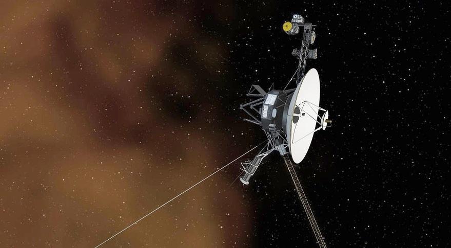 Tàu Voyager 2 đã bay gần 18 tỷ km tính từ Trái Đất. Ảnh: NASA