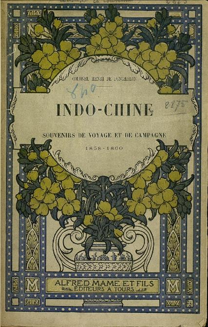Bìa cuốn sách của Henri de Ponchalon trong lần xuất bản đầu tiên vào năm 1896 bởi NXB Mame ở Tours, Pháp.