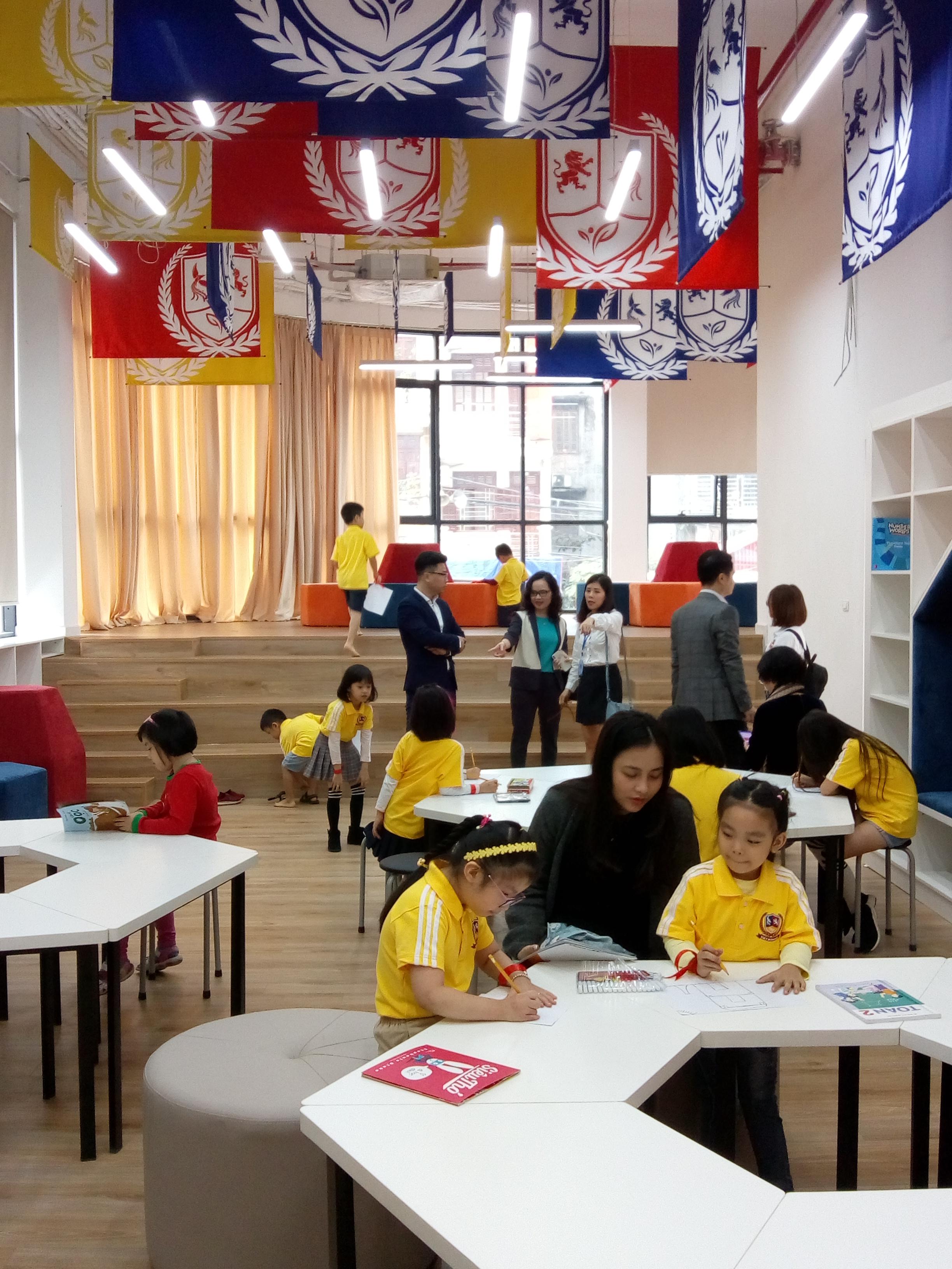 Thư viện cho học sinh tại Vietschool Pandora