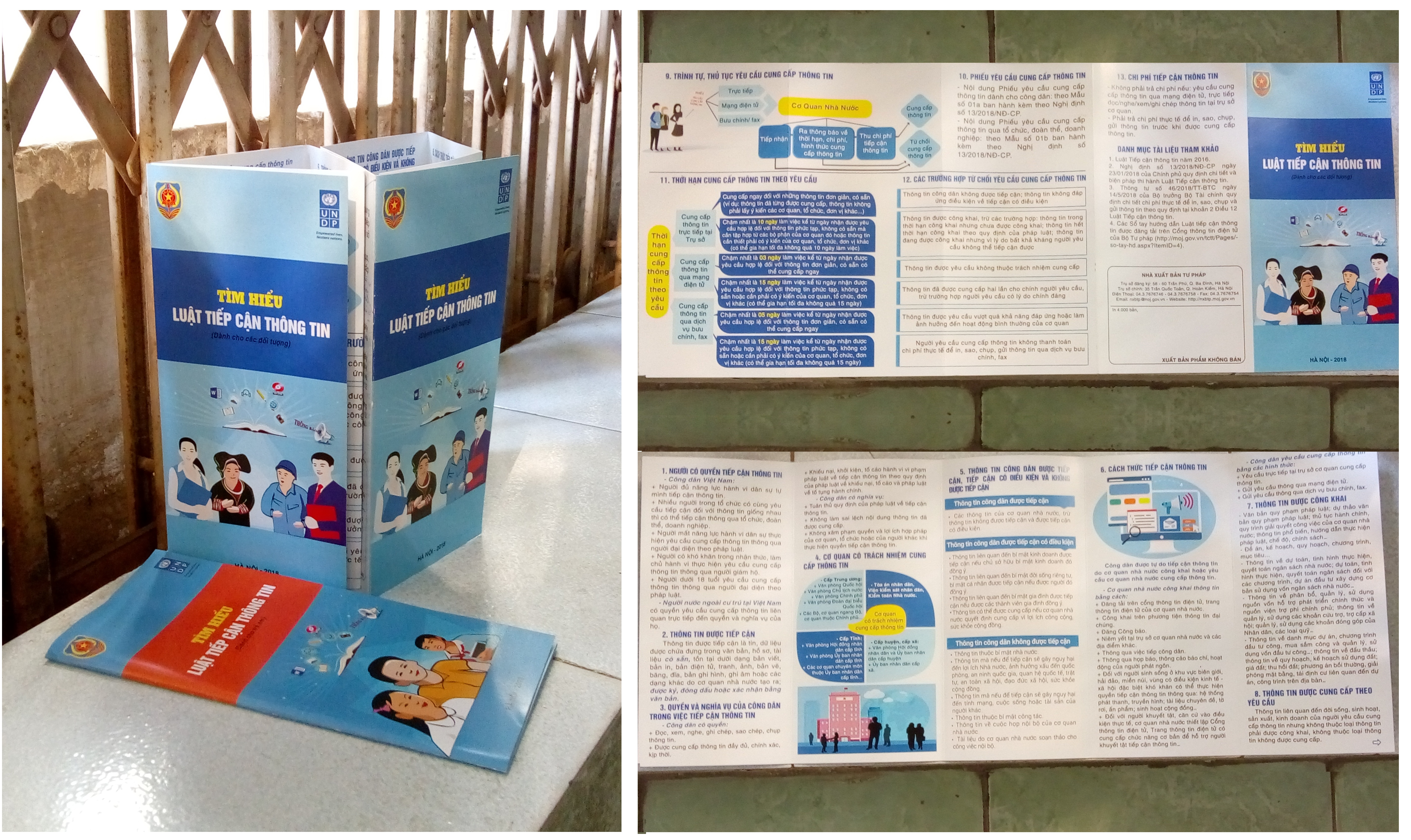 Các tờ gấp phiên bản hai vào tháng 12/2018 với 2 ấn phẩm cho các đối tượng và trẻ em