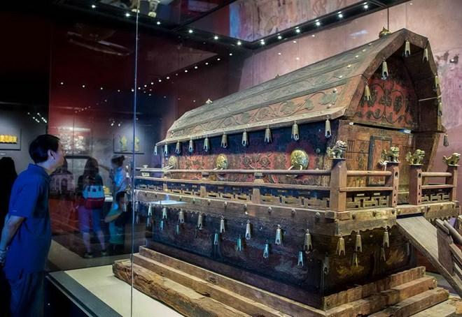 Phát hiện khu mộ cổ 2.000 năm tuổi hiếm thấy tại Trung Quốc