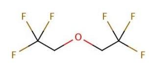 Phân tử bis (2,2,2-trifluoroethyl) ether, hay còn gọi là BTFE