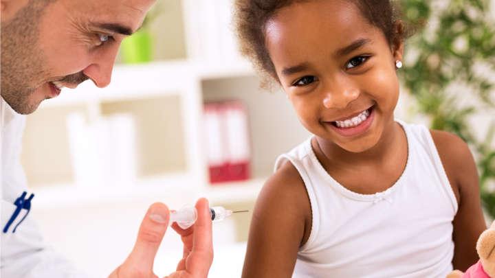 Bệnh sởi có thể phòng ngừa nhờ tiêm vaccine. Ảnh: Shutterstock