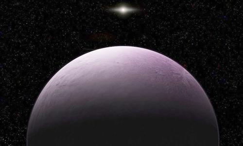 Minh họa thiên thể 2018 VG18. Ảnh: Carnegie