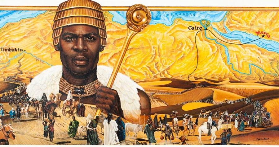 Mansa Musa là người giàu nhất trong lịch sử. Ảnh: Wikimedia.