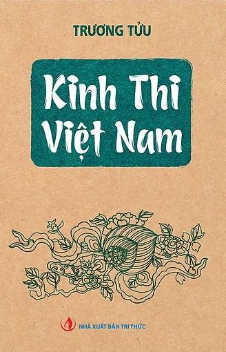 Sách Kinh Thi Việt Nam. Ảnh: NXB Tri Thức