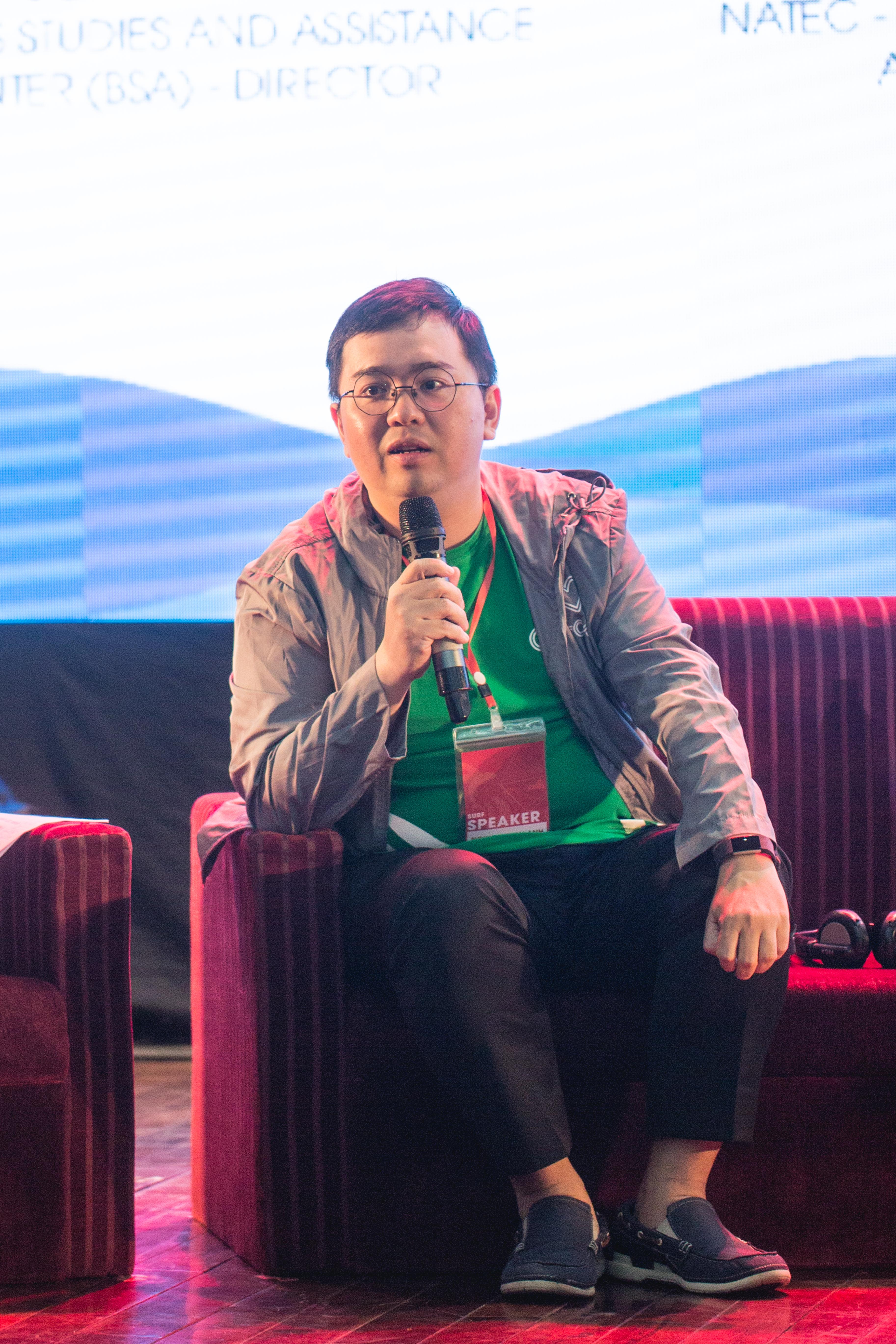 Anh Nguyễn Tuấn Anh - Chủ tịch Grab Việt Nam. Ảnh: PV