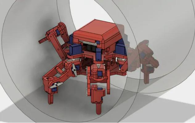 Robot sửa chữa đường ống. Ảnh: Đại học Sheffield