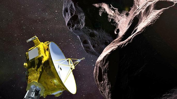 Thiên thể Ultima Thule nằm trong Vành đai Kuiper. Ảnh: AFP