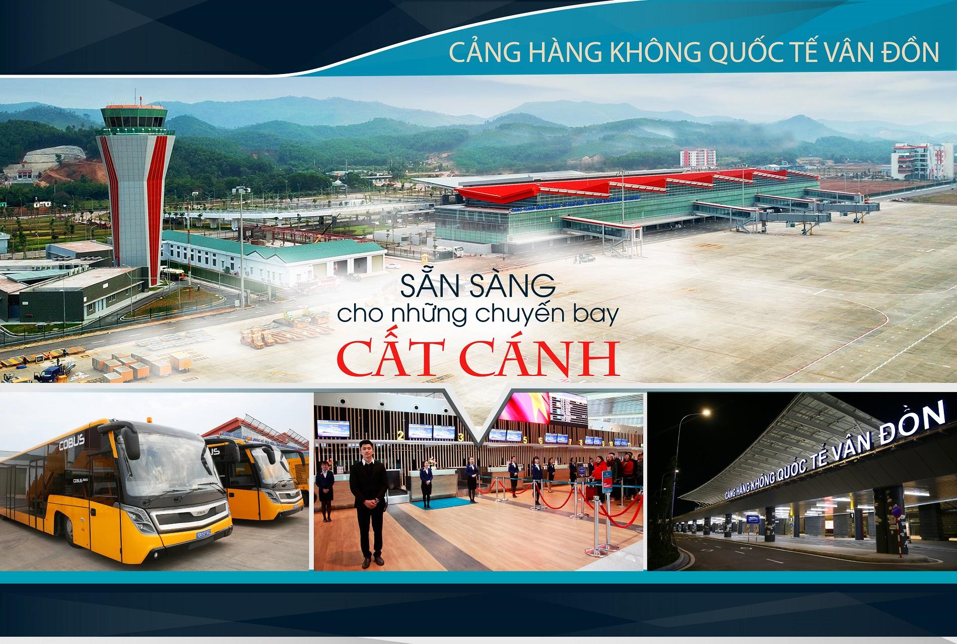 Sân bay Vân Đồn. Ảnh: PV