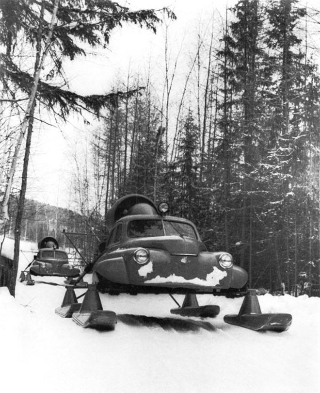 Xe ô tô trượt địa hình bằng động cơ máy bay của Liên Xô – như viễn tưởng mà hóa ra là có thật - Ảnh 3.