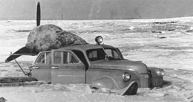 Xe ô tô trượt địa hình bằng động cơ máy bay của Liên Xô – như viễn tưởng mà hóa ra là có thật - Ảnh 5.