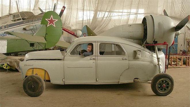 Xe ô tô trượt địa hình bằng động cơ máy bay của Liên Xô – như viễn tưởng mà hóa ra là có thật - Ảnh 7.