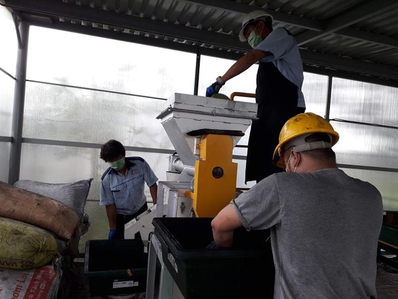 Vận hành thử nghiệm lò đốt rác tại chợ đầu mối nông sản Thủ Đức, TPHCM