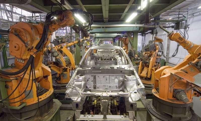 Robot công nghiệp. Nguồn: Phys.org