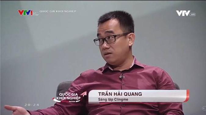 Ông Trần Hải Quang, Sáng lập của Clingme