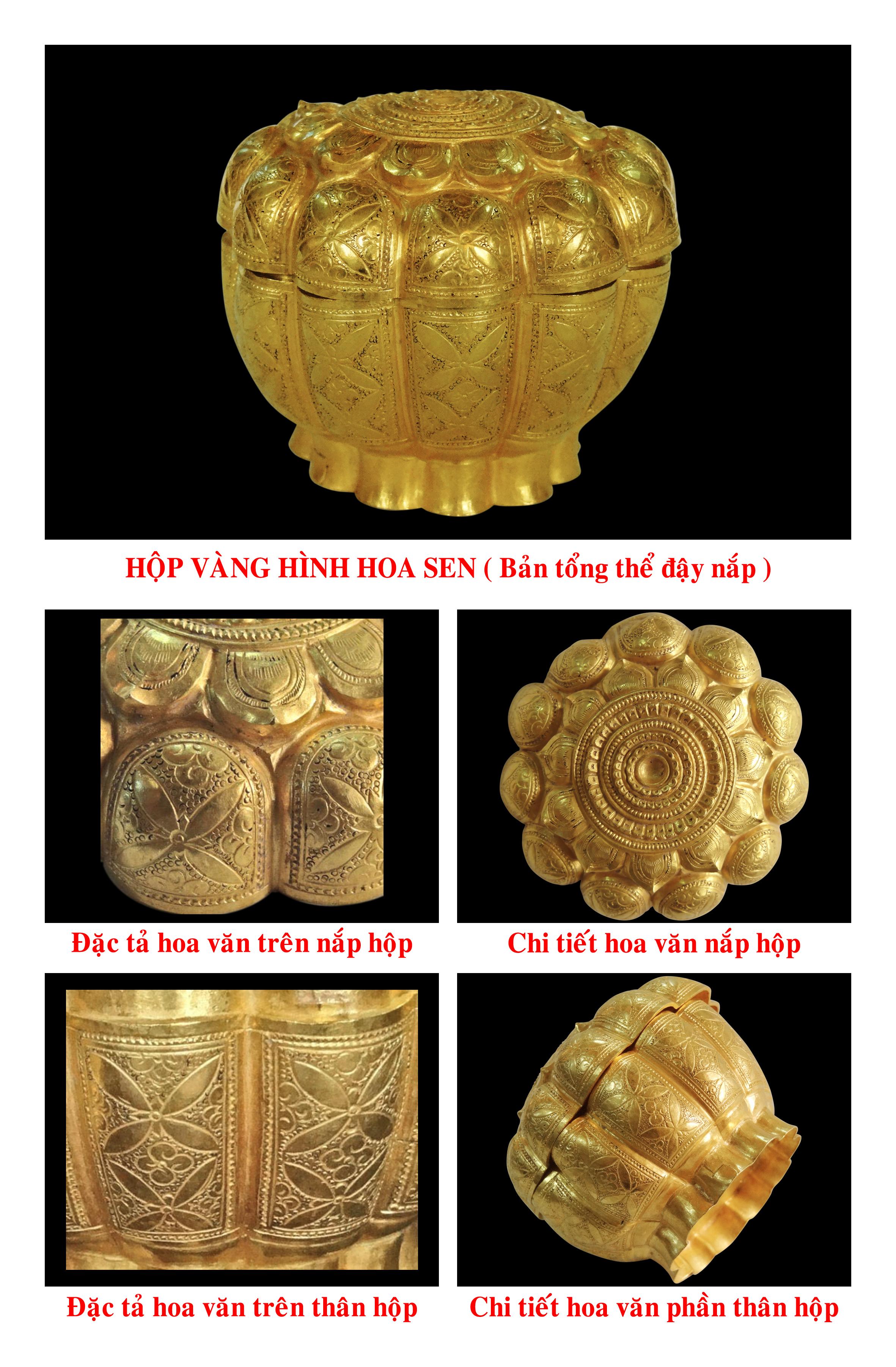 Hộp vàng Ngọa Vân. Nguồn: Đặng Hồng Sơn
