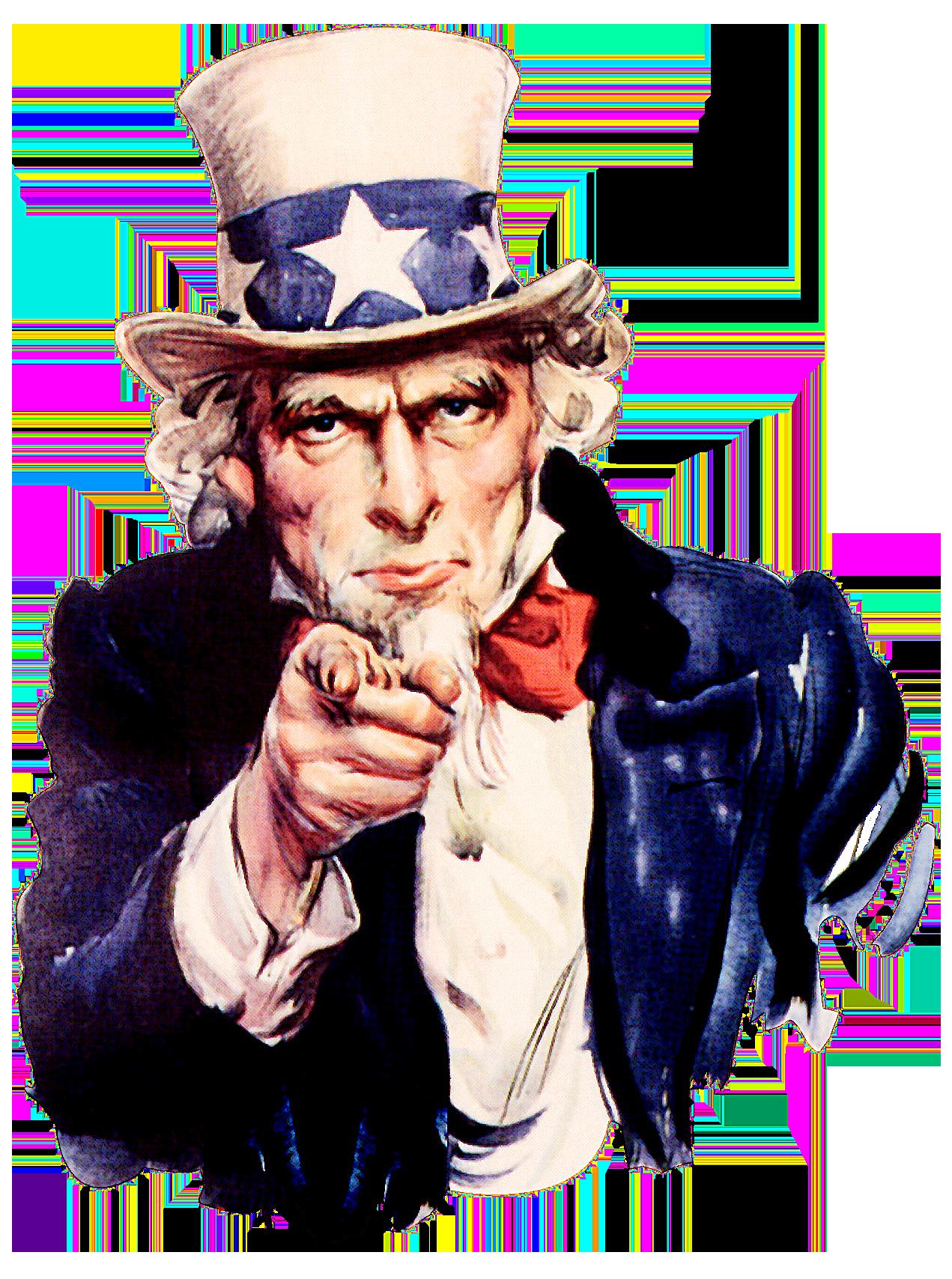 Uncle Sam là một người bán thịt lợn. Ảnh: Wikimedia.