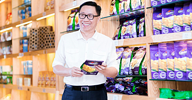 ông Nguyễn Lâm Viên- Chủ tịch Công ty Vinamit. Ảnh: PV