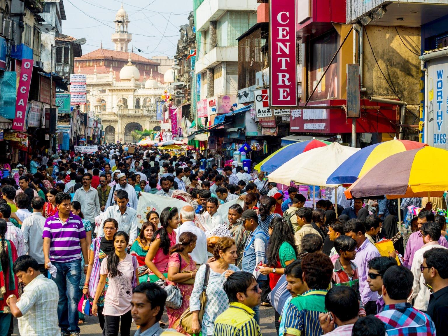 Ấn Độ đang có nhiều thành phố phát triển nhanh nhất thế giới. Ảnh: LightRocket