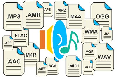 Nhiều định dạng tập tin được phát triển và thay thế trong nhiều năm qua