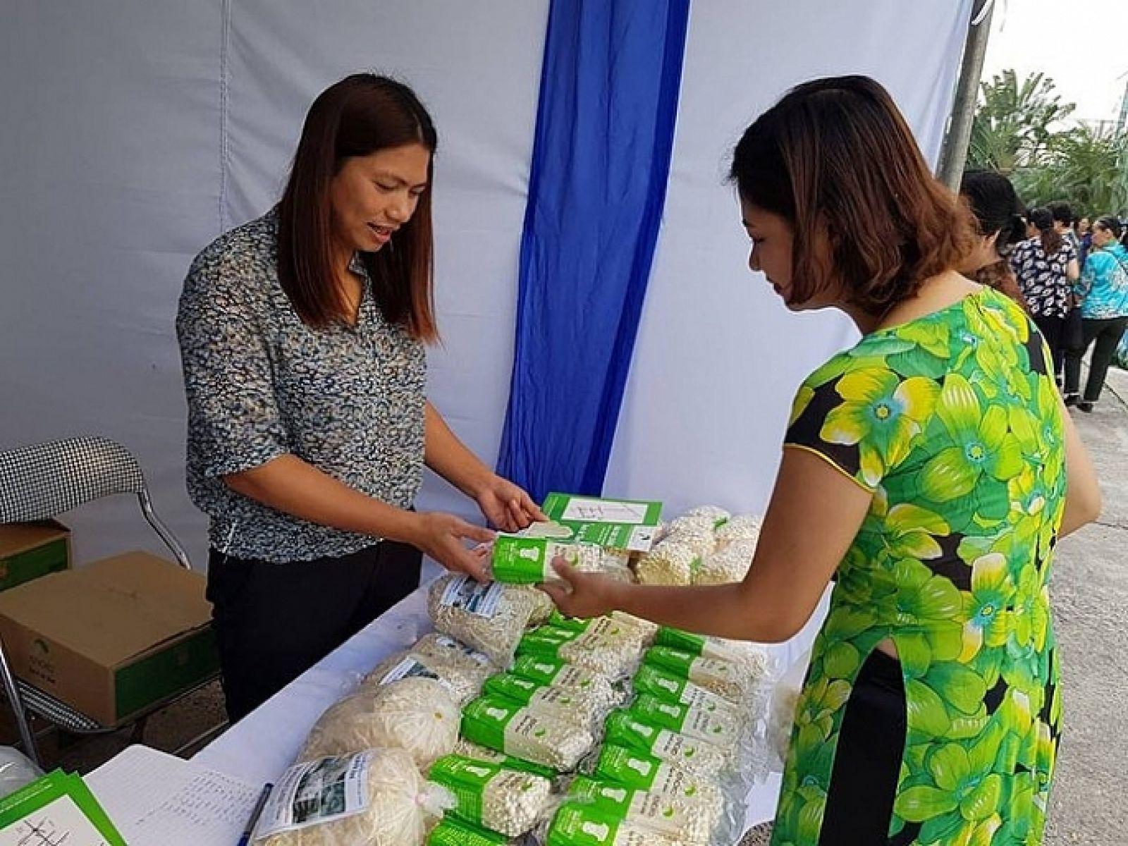 Phụ nữ Thủ đô với những sản phẩn trong ngày hội Phụ nữ khởi nghiệp, sáng tạo