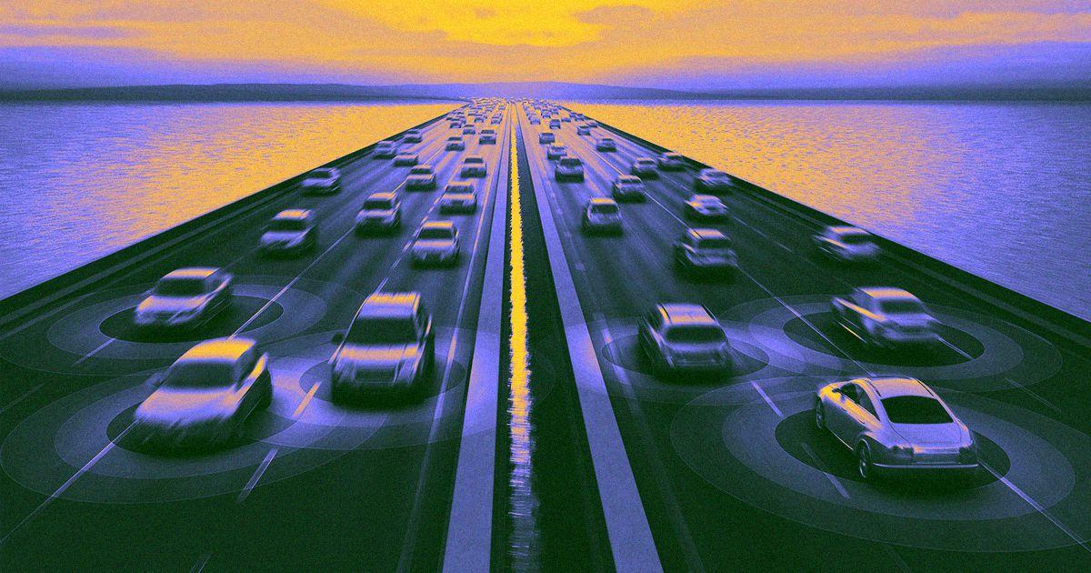 Giá trị thật sự của xe tự lái có lẽ nằm ở dữ liệu chứ không hẳn là công nghệ điều khiển chúng. Ảnh: Futurism.