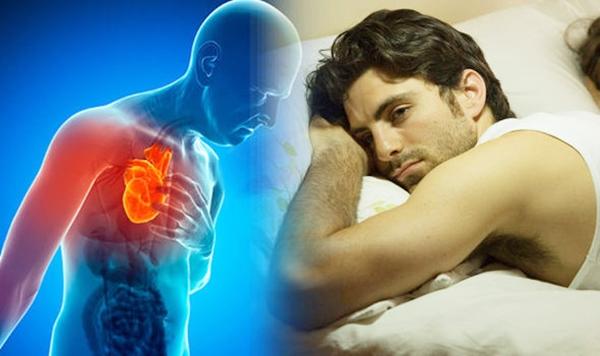 Giấc ngủ rất cần thiết để duy trì một trái tim khỏe mạnh. Ảnh: Daily Express