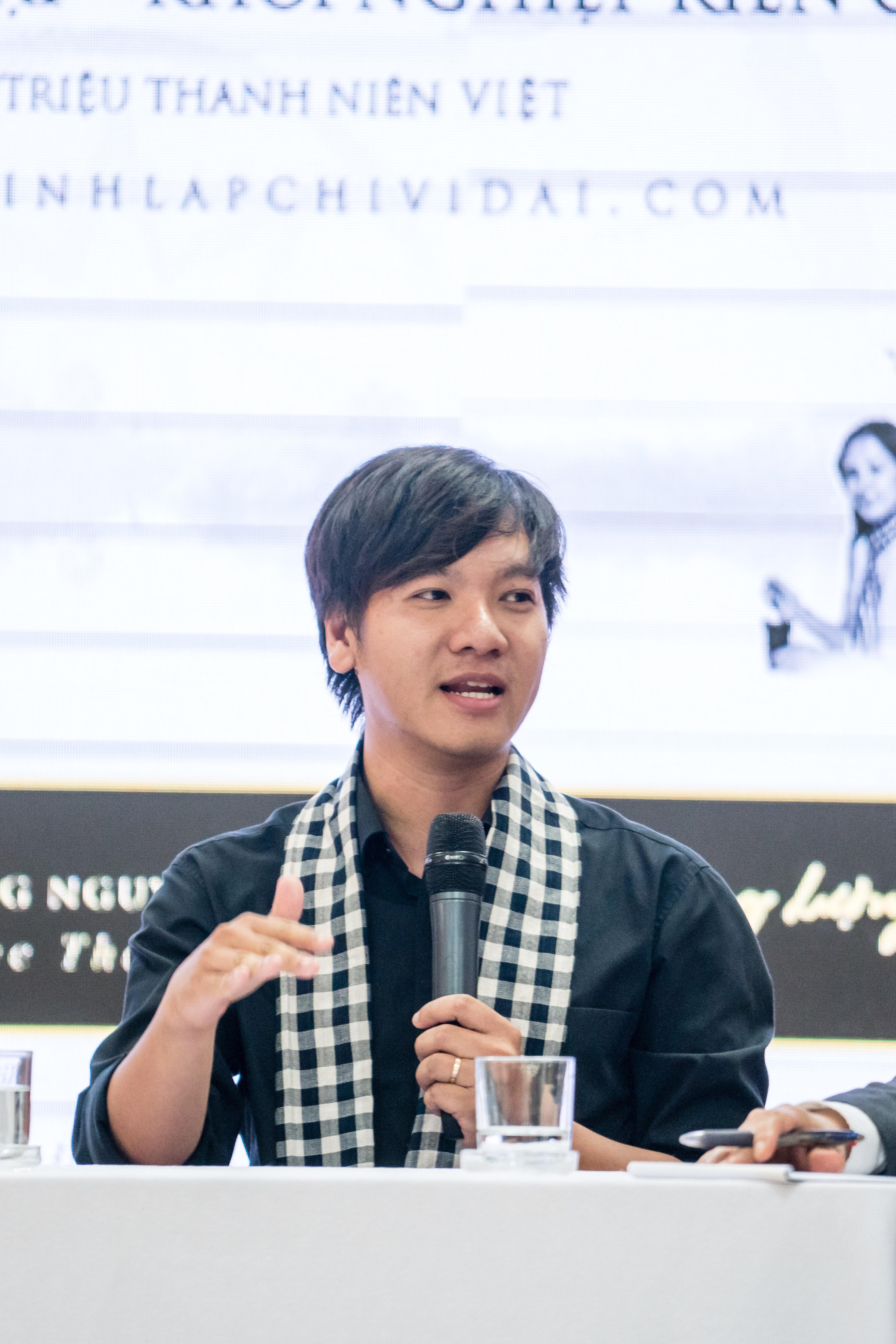 Lê Hoàng Nhật, đồng sáng lập và Giám đốc điều hành Công ty CP Trí Tuệ Nhân Tạo Ami