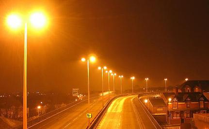 Hiện tượng ô nhiễm ánh sáng đang có xu hướng gia tăng. Ảnh: AP