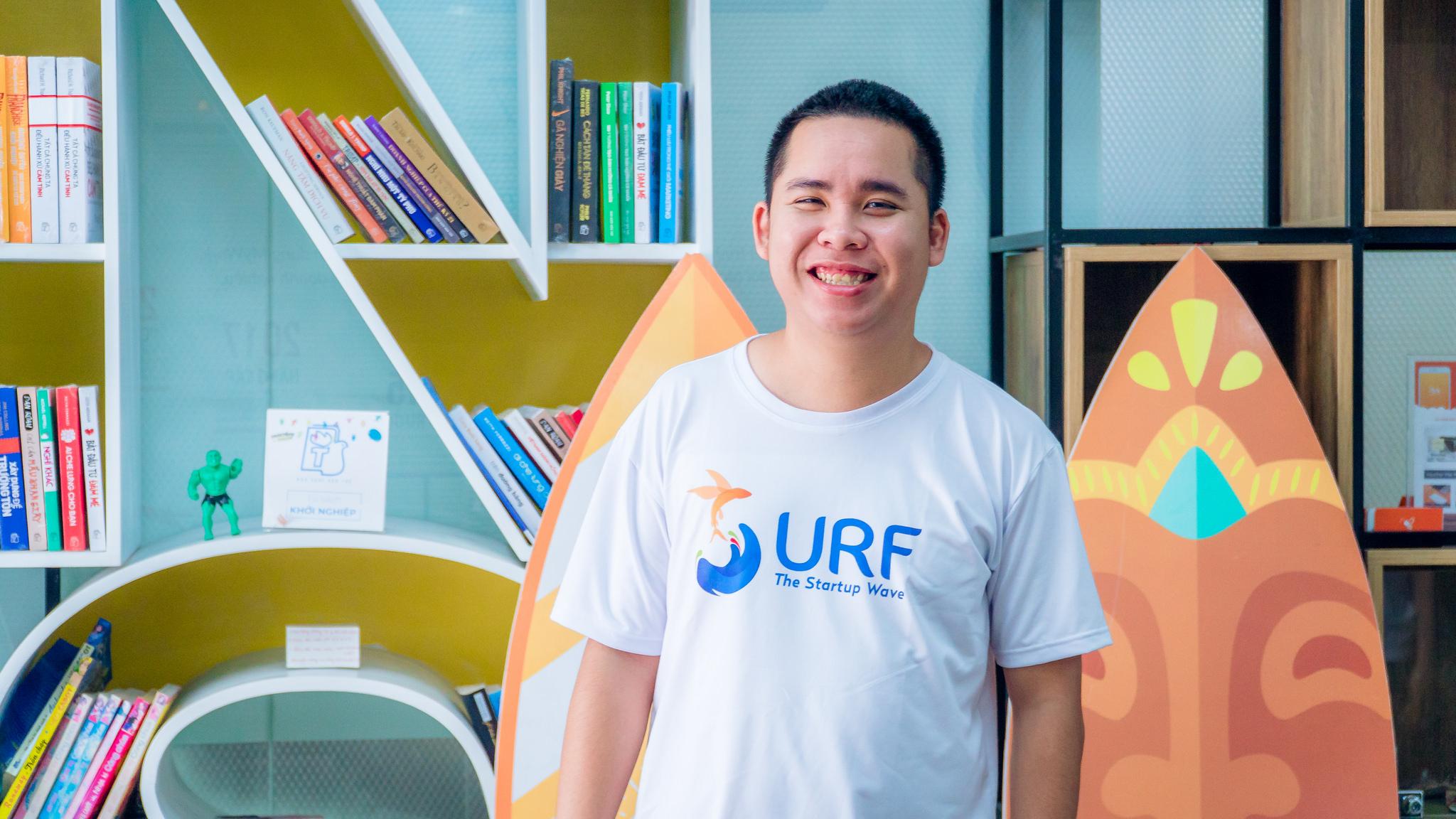 Trung Phạm, CEO Vườn ươm doanh nghiệp Đà Nẵng DNES