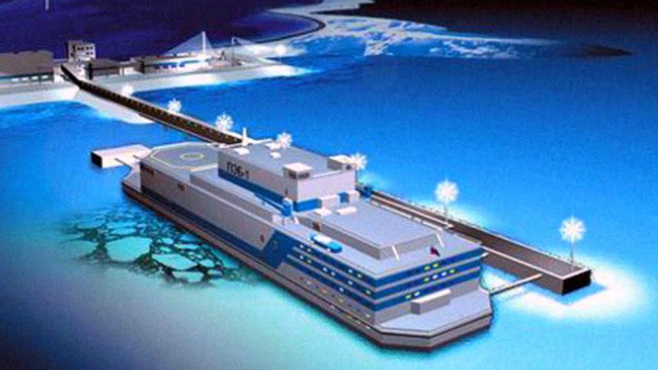 Nhà máy điện hạt nhân nổi trên biển của Trung Quốc, về bản chất cũng là một loại lò phản ứng nhỏ, di động. Ảnh: Philippines Lifestyle News.