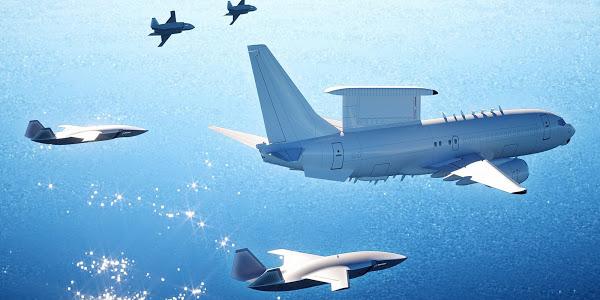 Ý tưởng máy bay chiến đấu tự lái của Boeing. Ảnh: Boeing.