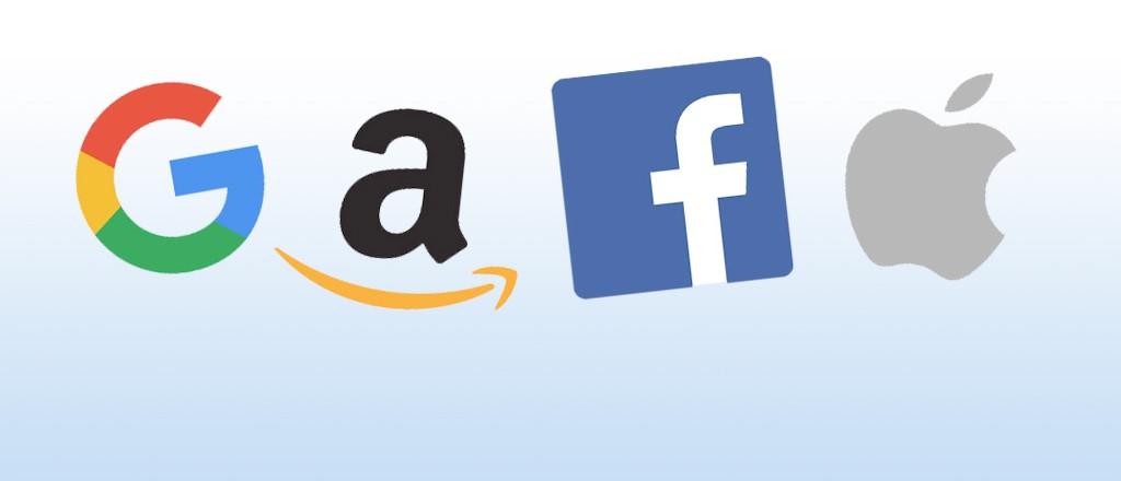 Bộ tứ Google, Amazon, Facebook và Apple bị cho là đang nắm giữ quá nhiều quyền lực khi sở hữu lượng dữ liệu người dùng khổng lồ, gây ra nhiều quan ngại, nhất là liên quan đến lĩnh vực quyền riêng tư. Ảnh: University of Pennsylvania.