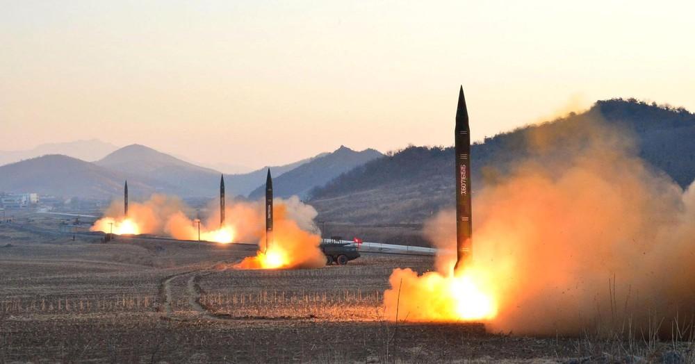 Tên lửa hạt nhân của Bắc Triều Tiên được dự báo là một trong những ngòi nổ châm ngòi cho xung đột tại khu vực châu Á Thái Bình Dương. Ảnh: Wikimedia.