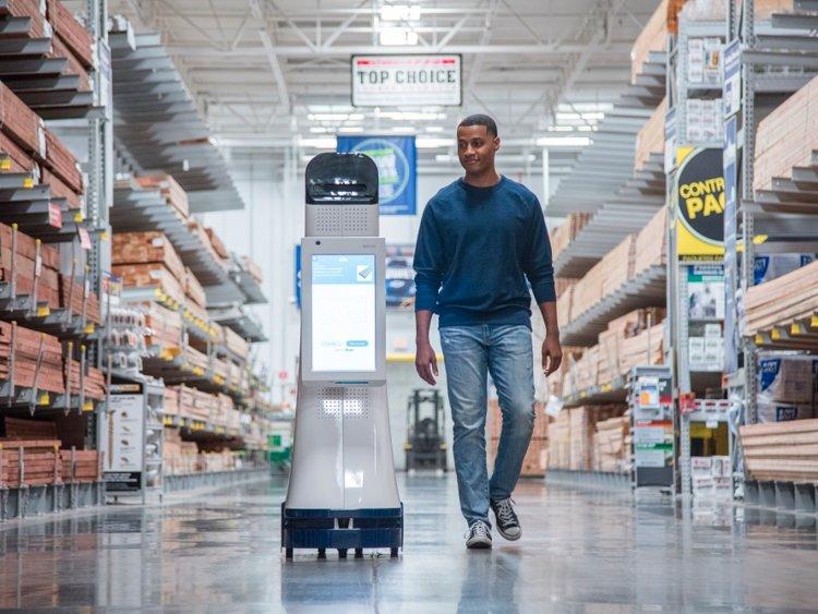 Các nhà bán lẻ buộc phải tham gia cuộc cạnh tranh về công nghệ hóa dịch vụ của mình. Ảnh: Wdd.com