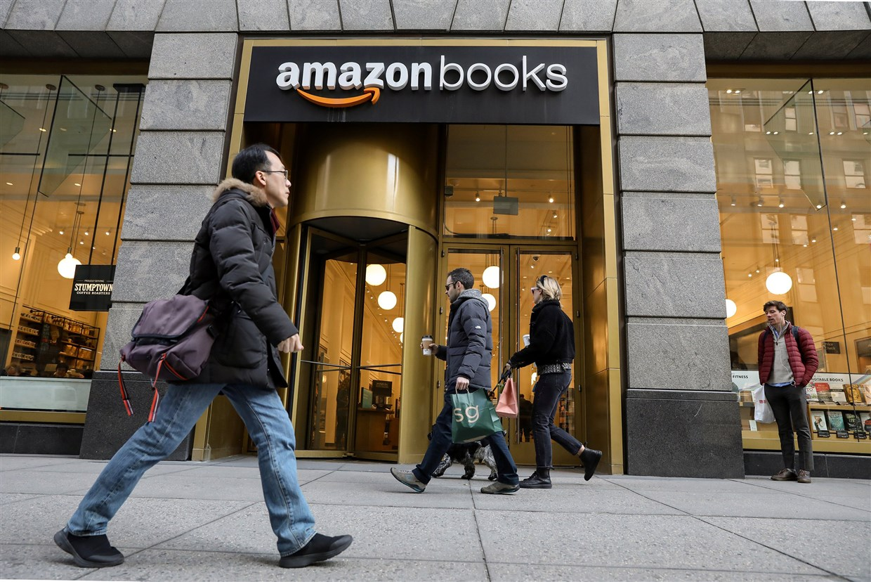 Một cửa hàng Amazon Books ở thành phố New York. Nguồn: Brendan McDermid / Reuters